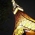Photos: 樹間の電塔