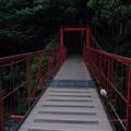 湯の鶴温泉黄昏時・・ほたる橋