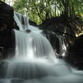 写真: 箱滝・・水量が多すぎです