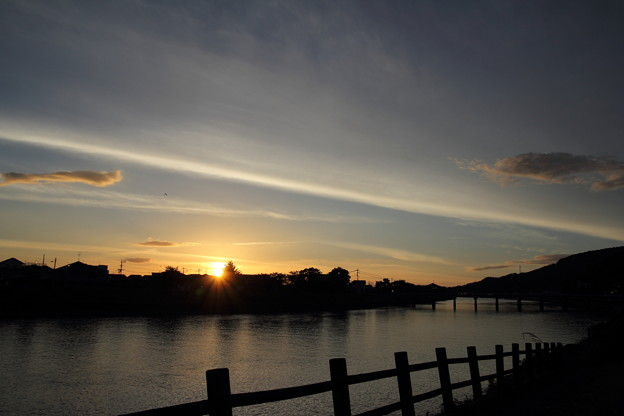 写真: 夕日リベンジ