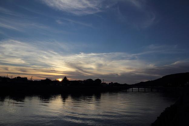 写真: 落陽