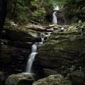 なべ滝・・水が少ない