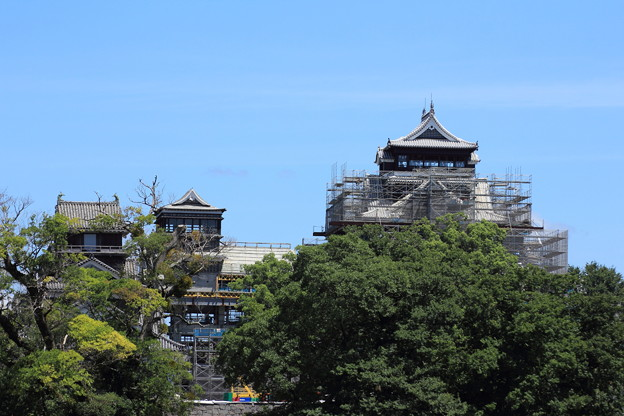 今の熊本城