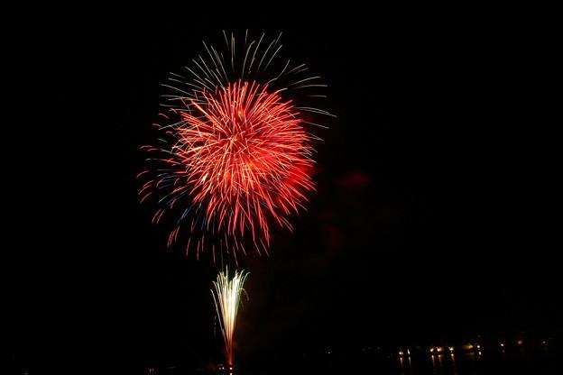 写真: 始まりの花火