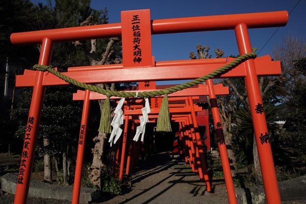 鳥居・・八幡神社