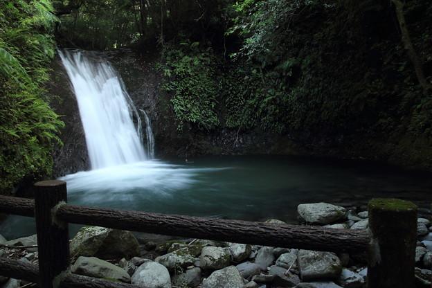 七滝の一番下の座頭滝