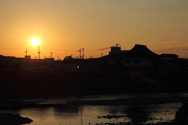 久しぶりの夕日撮り