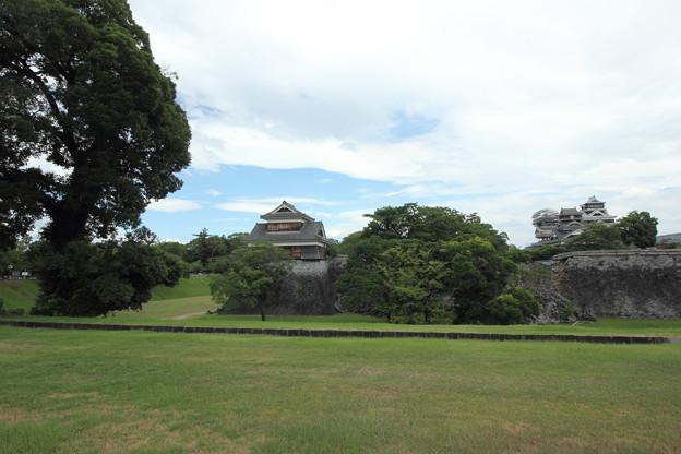 Photos: 二の丸公園から熊本城