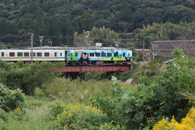 おれんじ鉄道の秋