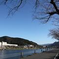 Photos: 八幡神社入口の水俣川