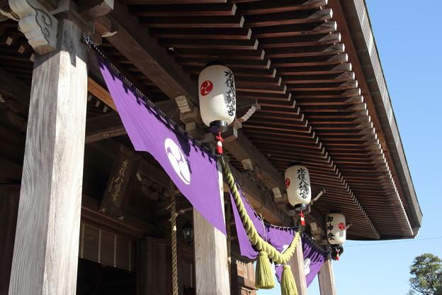 宮飾り・・八幡神社