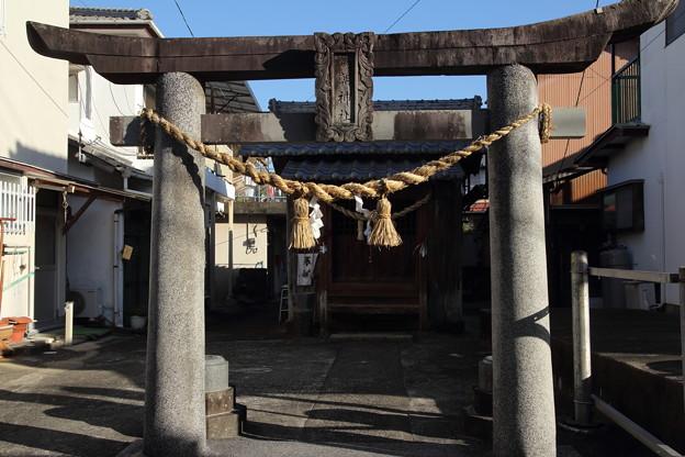 初詣・・為朝神社