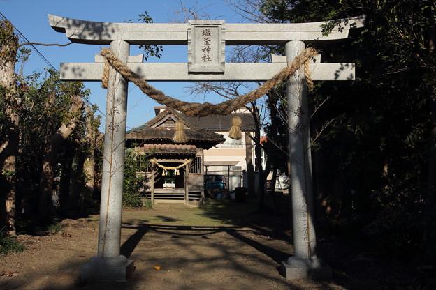 初詣・・塩釜神社