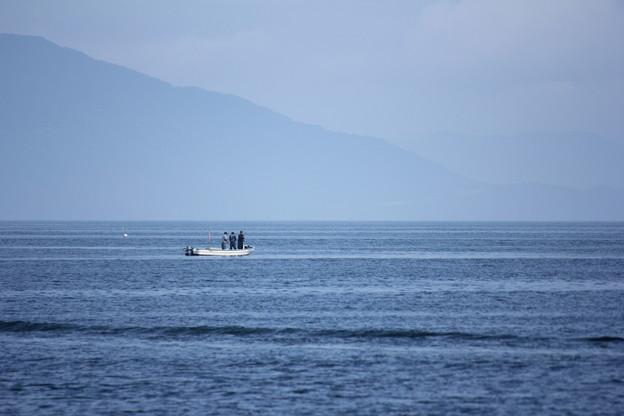 釣り人たち・・三人様で