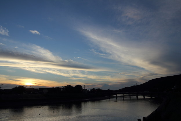 Photos: 水俣川黄昏時