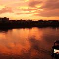 タイムラプス撮影中です・・水俣川