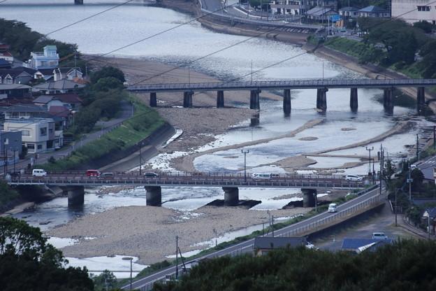 水俣川の橋