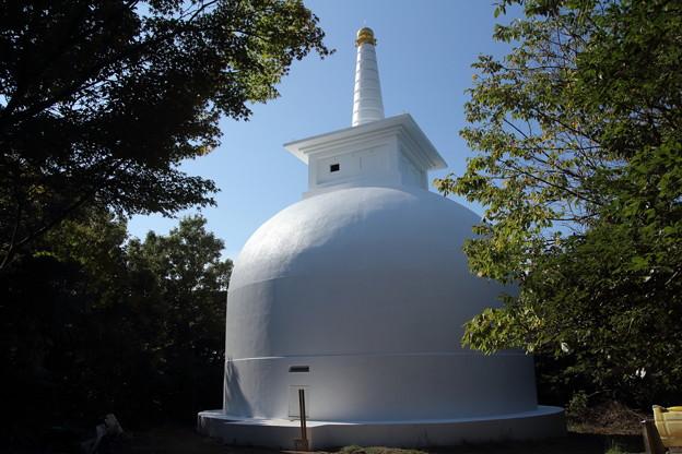 中尾山の仏舎利塔