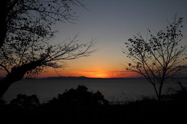 湯の児海岸道路黄昏時