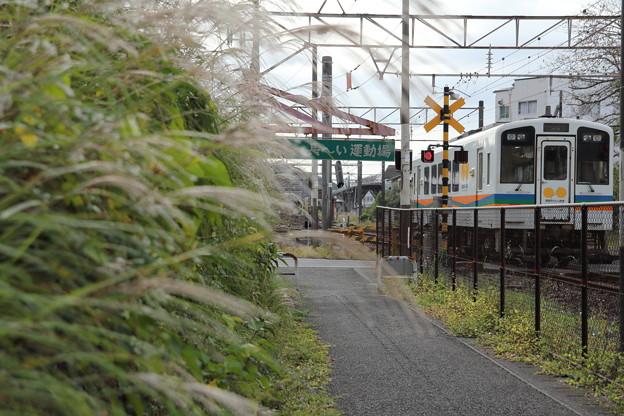 遊歩道始点とおれんじ鉄道