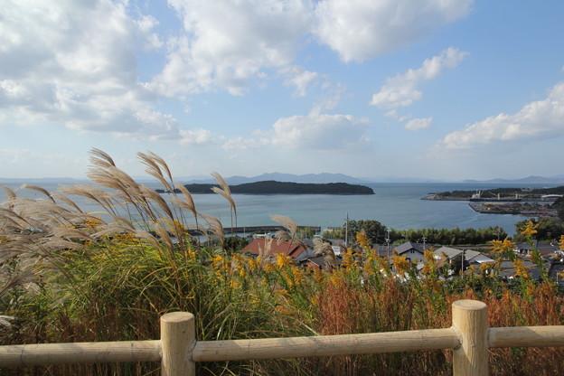 Photos: 恋路島臨む・・月の浦ふれあい公園