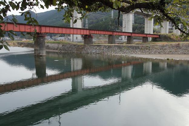 水俣川の鉄橋