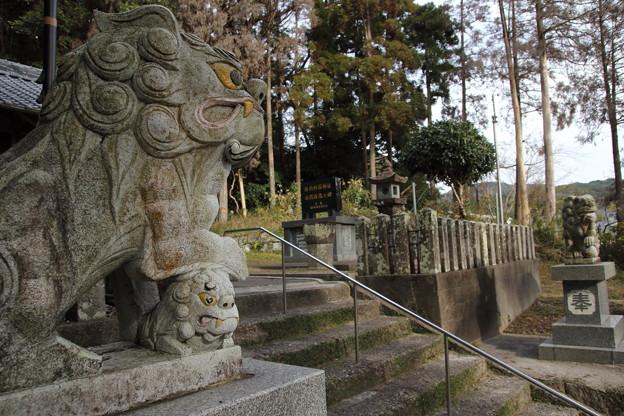 狛犬・・陣内阿蘇神社