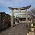 Photos: 初詣・・八幡神社