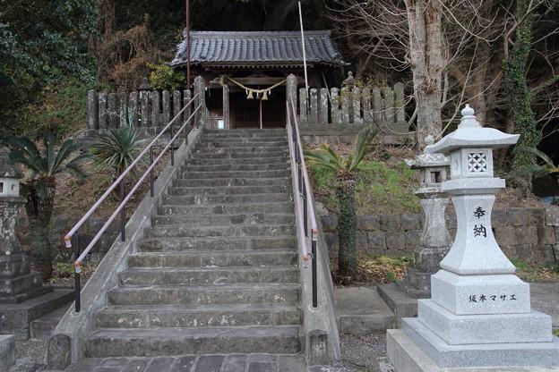 初詣・・丸島神社