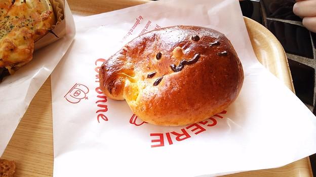 写真: クリームパン?