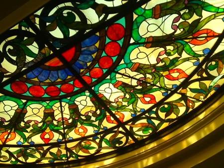 国立科学博物館ステンドグラス