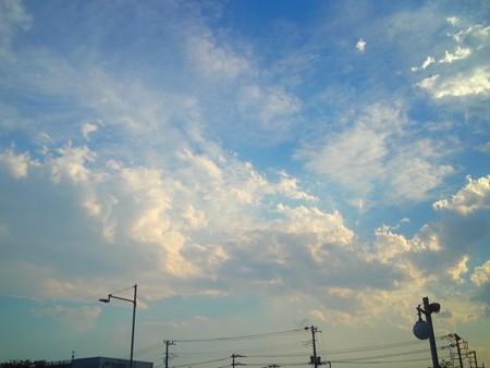雲、ざわわ