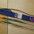 Photos: Kedamaさん作「稲穂入れ」全容