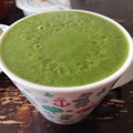 Photos: 緑汁出来上がり!