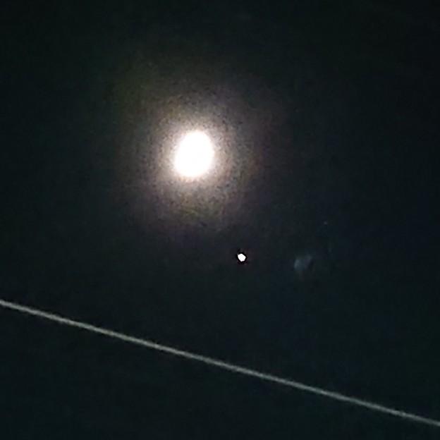 Photos: 月と木星