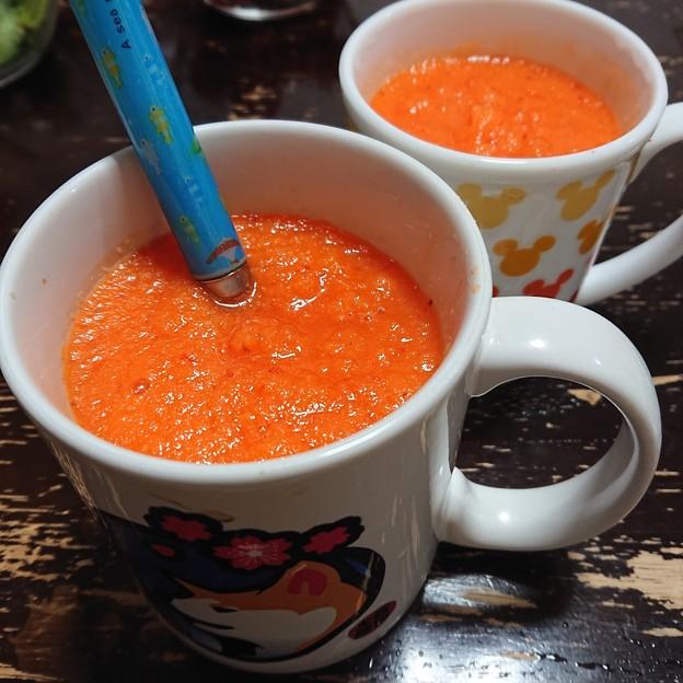 赤汁甘い!