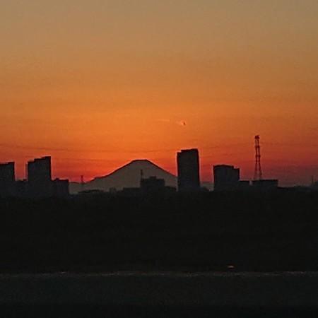 2020新春夕富士