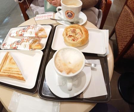 冬休み最後のカフェ???