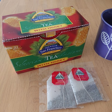 GRANJA San Francisco TEA WITH HONEY