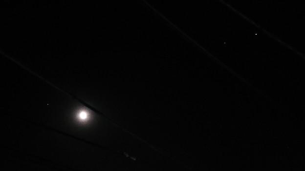 火星月土星木星