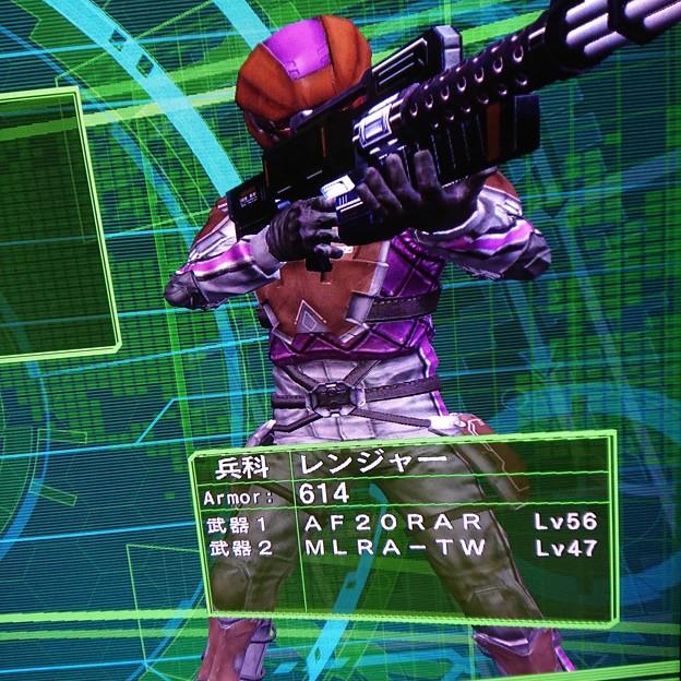【地球防衛軍4.1】青い衛士インフェルノで単独武器集め