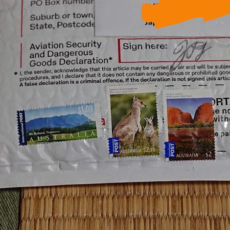オーストラリアの切手