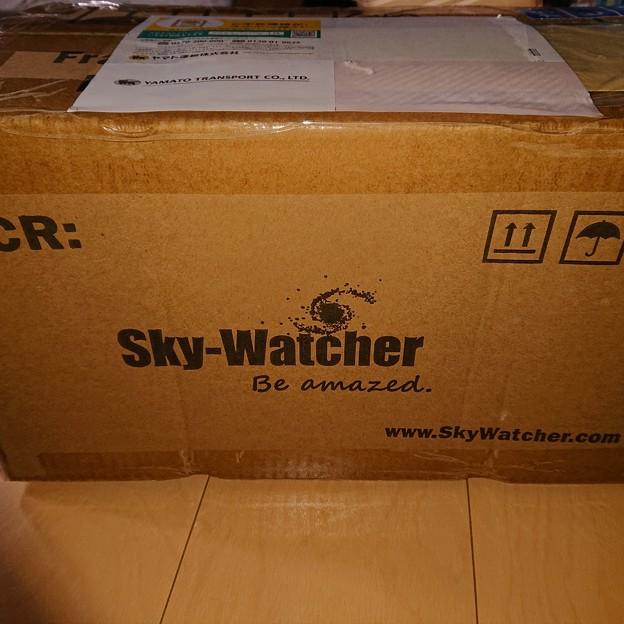 買っちゃいました、マクストフカセグレン式望遠鏡