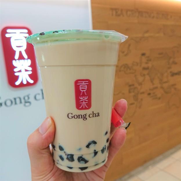Photos: 落ち着いたころにGong cha。