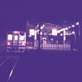 Photos: 夜の駅舎