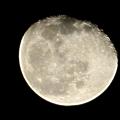 Photos: 欠けてきた月