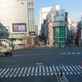 Photos: 誰もいない新宿南口付近