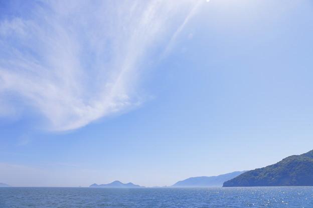 写真: 瀬戸の潮風