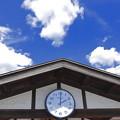 夏空と時計