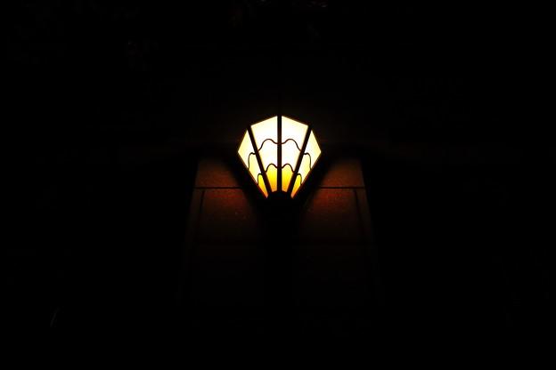 闇を照らし